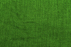 Green denim texture Stock Photo