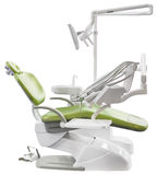 Green Dentist Chair Cutout Stock Images