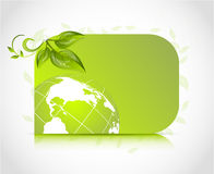 Green design card Royalty Free Stock Image
