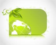 Green design card Royalty Free Stock Image