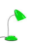 Green desk lamp Stock Photography