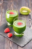 Green Detox smoothie Royalty Free Stock Images