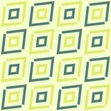 Green diagonal ethnic geometric pattern Stock Images