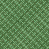 Green Diagonal Pattern. Geometric pattern. Inspired by Chinese cultural motifs - tiles seamlessly Royalty Free Stock Images