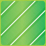 Green diagonal stripes pattern. White diagonal stripes pattern and circle stripes in frame on green Spring background. Holiday background. Digital illustration Royalty Free Stock Photography
