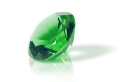 Green diamond Stock Photography