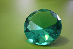 Green diamond Royalty Free Stock Photos