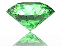 Green diamond Stock Photo