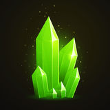 Green Diamond Royalty Free Stock Images
