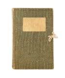 Green diary Royalty Free Stock Photo