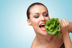 Green diet. Stock Photo
