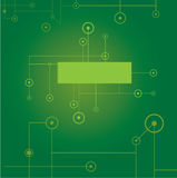 Green digital background. Vector illustration vector illustration