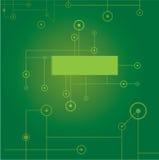 Green digital background. Vector illustration Royalty Free Stock Photos