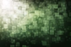 Green digital background Stock Image