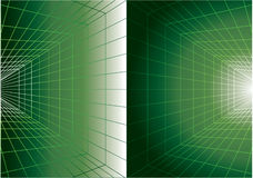 Green digital background Stock Photography