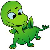 Green Dino Stock Image