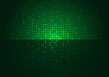 Green Disco Background Stock Images