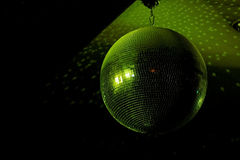 Green Disco Ball Stock Images