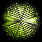 Green disco lights background Royalty Free Stock Photography