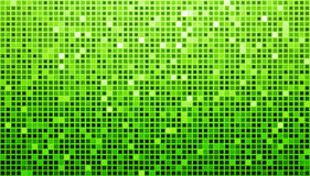 Green Disco Matrix Background. Background with green and white mosaic vector illustration