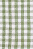 Green dish towel pattern Royalty Free Stock Images