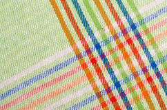 Green dishtowel Stock Image