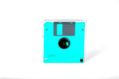 Green diskette Royalty Free Stock Image