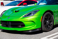 Green Dodge Stock Image