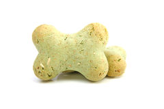 Green dog cookies Royalty Free Stock Photography