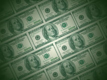 Green Dollar Royalty Free Stock Photo