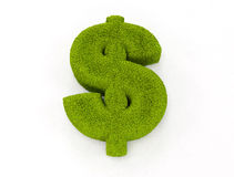 Green dollar sign stock illustration