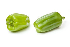 Green dolma peppers Stock Photo