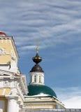Купол стародедовской церков Стоковое Изображение RF