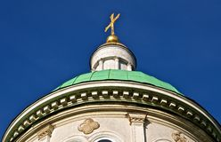 The green dome. Royalty Free Stock Image