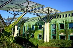 Green dome. Royalty Free Stock Photos
