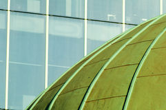 Green Dome with Glass Royalty Free Stock Image