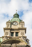 Green Dome On Vancouver Clock Tower Royalty Free Stock Images