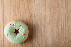 Green donut Stock Photography