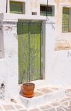 Green Door Royalty Free Stock Image