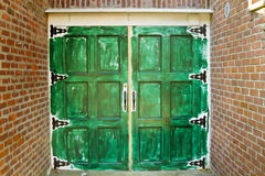 Green Door Stock Photos