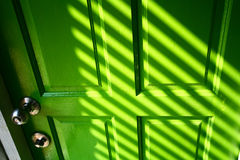 Green Door Royalty Free Stock Photos