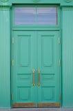 Green door Stock Photo