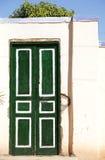 Green door Stock Photos