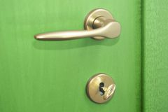 Green door Stock Photo