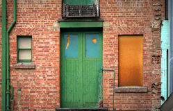 Free Green Door Royalty Free Stock Photos - 655708