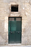Green Door, Lecce Royalty Free Stock Photos