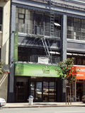 Green Door, medical marijuana pot shop store in SOMA Royalty Free Stock Photos