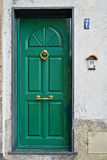 Green door Stock Photography