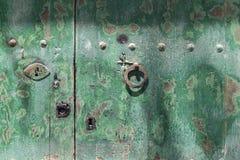 Green door Stock Image
