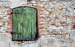 Green door Stock Photography